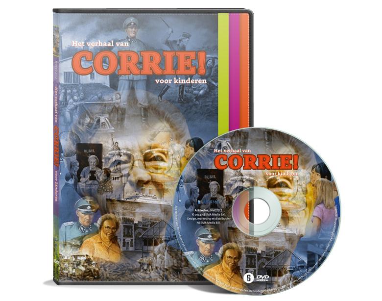 DVD: het verhaal van Corrie ten Boom voor kinderen